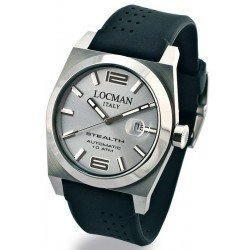 Locman Men's Watch Stealth Automatic 020500AGFNK0SIK