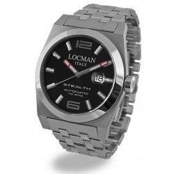 Locman 020500BKFNK0BR0 Stealth Automatic Men's Watch