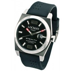 Locman Men's Watch Stealth Automatic 020500BKFNK0SIK