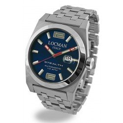Locman Men's Watch Stealth Automatic 020500BLFNK0BR0