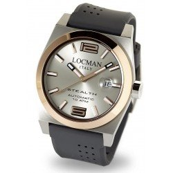 Locman 02050RGYF5N0SIA Stealth Automatic Men's Watch