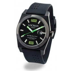 Locman Men's Watch Stealth Automatic 0205BKBKNGR0GOK