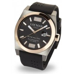 Locman Men's Watch Stealth Automatic 0205GRBKF5N0SIK