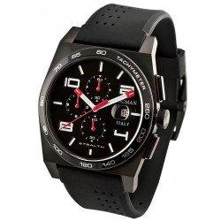 Locman Men's Watch Stealth Quartz Chronograph 02050RGYF5N0SIA