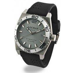 Locman Men's Watch Stealth Quartz 021100AK-AGKSIK