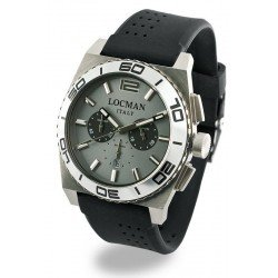 Locman Men's Watch Stealth Quartz Chronograph 021200AK-AGKSIK
