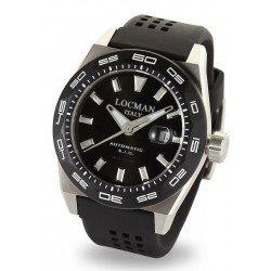 Locman Men's Watch Stealth 300MT Automatic 0215V1-0KBKNKS2K