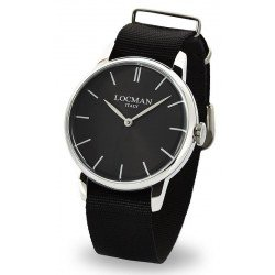 Buy Locman Men's Watch 1960 Quartz 0251V01-00BKNKNK