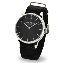Locman 0251V01-00BKNKNK 1960 Quartz Men's Watch