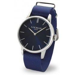 Locman 0251V02-00BLNKNB 1960 Quartz Men's Watch