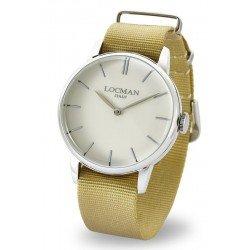 Locman 0251V05-00AVNKNH 1960 Quartz Men's Watch