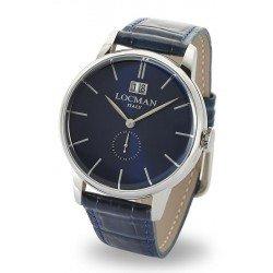 Locman 0252V02-00BLNKPB 1960 Gran Data Quartz Men's Watch