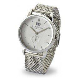 Locman 0252V06-00AGNKB0 1960 Gran Data Quartz Men's Watch