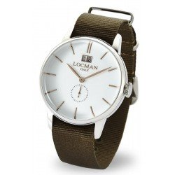 Locman 0252V08-00WHRGNG 1960 Gran Data Quartz Men's Watch