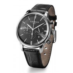 Buy Locman Men's Watch 1960 Quartz Chronograph 0254A01A-00BKNKPK