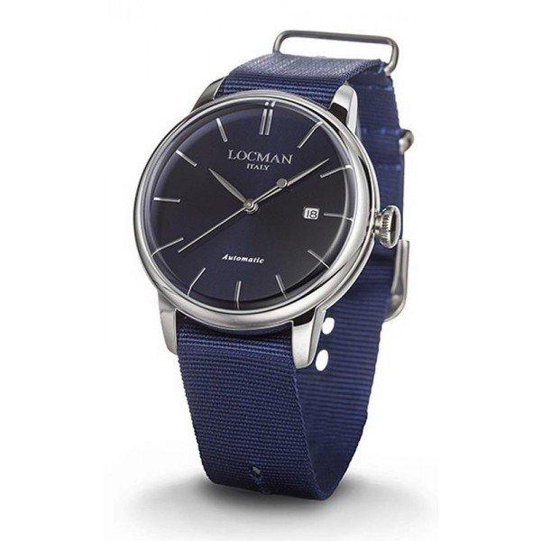 Locman 0255A02A-00BLNKNB 1960 Automatic Men's Watch