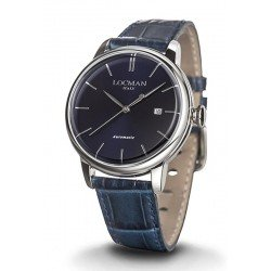 Locman Men's Watch 1960 Automatic 0255A02A-00BLNKPB