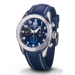 Buy Locman Men's Watch Isola d'Elba Quartz Chronograph 0460A02-00BLWHPB