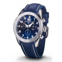 Locman Men's Watch Isola d'Elba Quartz Chronograph 0460A02-00BLWHPB