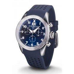 Locman 0460A02-00BLWHSB Isola d'Elba Chronograph Quartz Men's Watch