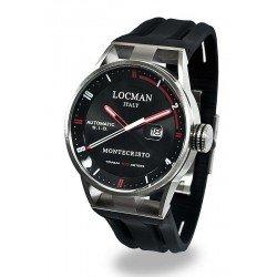 Locman Men's Watch Montecristo Automatic 051100BKFRD0GOK