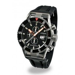 Buy Locman Men's Watch Montecristo Professional Diver Chronograph 051200KOBKNKSIK