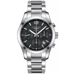 Longines Men's Watch Conquest Classic L27864566 Chronograph Automatic