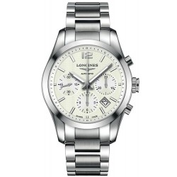 Longines Men's Watch Conquest Classic L27864766 Chronograph Automatic