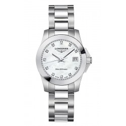 Buy Longines Women's Watch Conquest Classic L32774876 Quartz