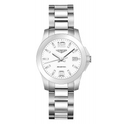 Buy Longines Women's Watch Conquest L33774166 Quartz