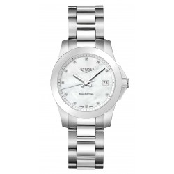 Buy Longines Women's Watch Conquest L33774876 Quartz