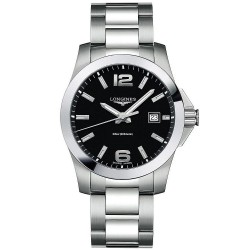 Longines Men's Watch Conquest L36594586 Quartz