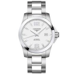 Longines Men's Watch L36774766 Conquest Automatic