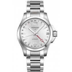 Longines Men's Watch Conquest L36874766 GMT Automatic