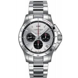 Longines Men's Watch L36974066 Conquest Chronograph Automatic