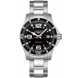Buy Longines Men's Watch Hydroconquest L37404566 Quartz