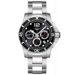 Buy Longines Men's Watch Hydroconquest Automatic Chronograph L37444566