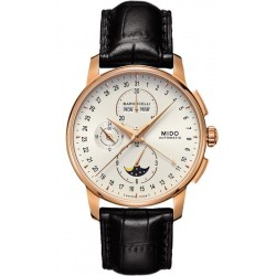 Mido Men's Watch Baroncelli II Chronograph Moonphase Automatic M86073M142