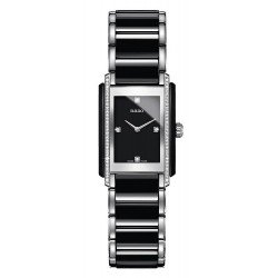 Rado R20217712 Integral S Ceramic Steel Diamond Quartz Women's Watch