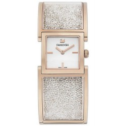 Swarovski 5027138 Crystalline Bangle Rose Gold Tone Women's Watch