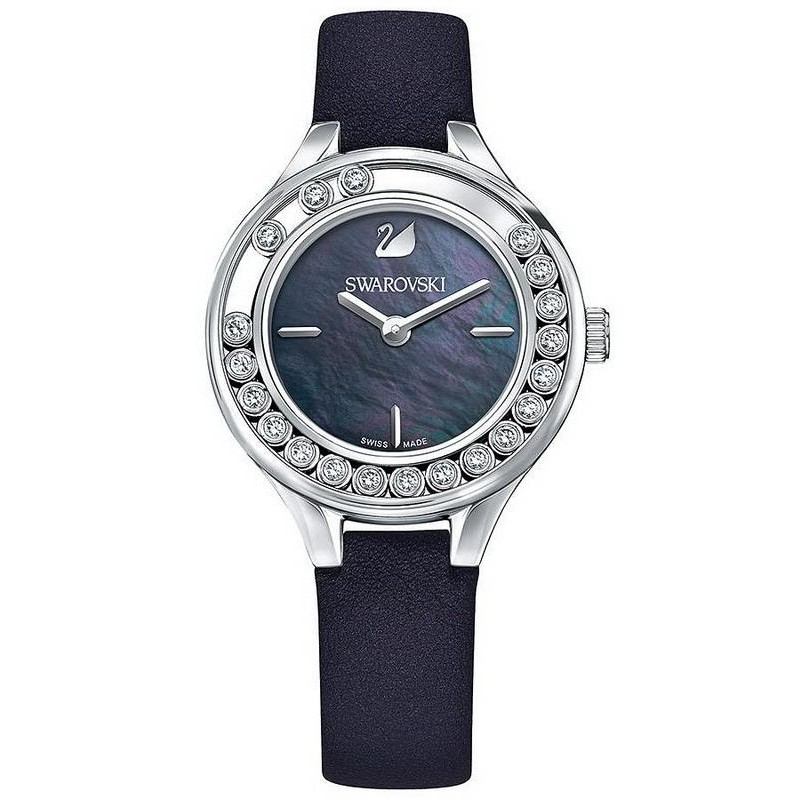 Swarovski 5242898 lovely crystals mini mother of pearl women 39 s watch for Swarovski crystals watch