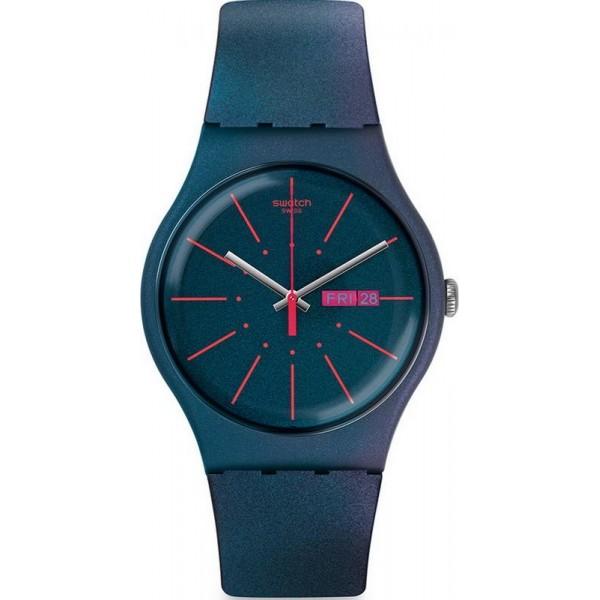Buy Swatch Men's Watch New Gent New Gentleman SUON708