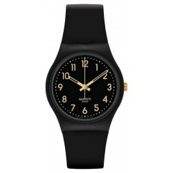 Swatch Unisex Watch Gent Golden Tac GB274