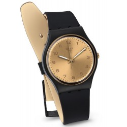 Swatch Unisex Watch Gent Golden Friend Too GB288