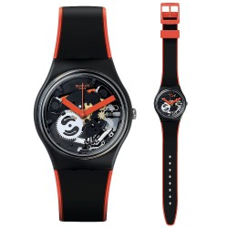 Swatch Unisex Watch Gent Red Frame GB290