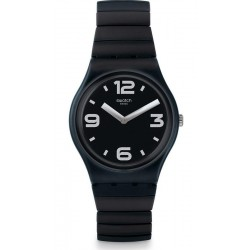 Swatch Unisex Watch Gent Blackhot L GB299A