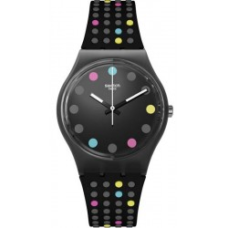 Swatch Women's Watch Gent Boule A Facette GB305