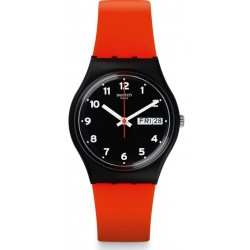 Swatch Unisex Watch Gent Red Grin GB754
