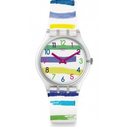 Swatch Unisex Watch Gent Colorland GE254