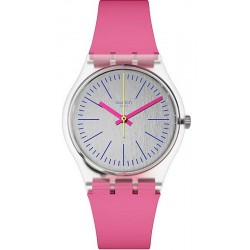 Buy Swatch Women's Watch Gent Fluo Pinky GE256